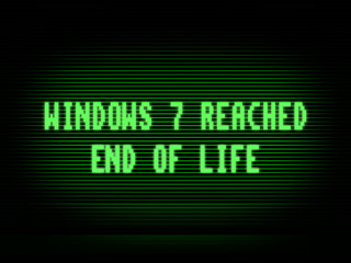 Windows 7 end of life IT company kent